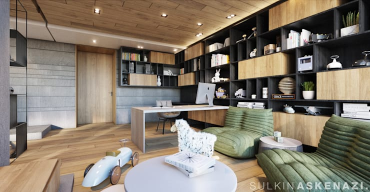 Study/office by Sulkin Askenazi, Modern