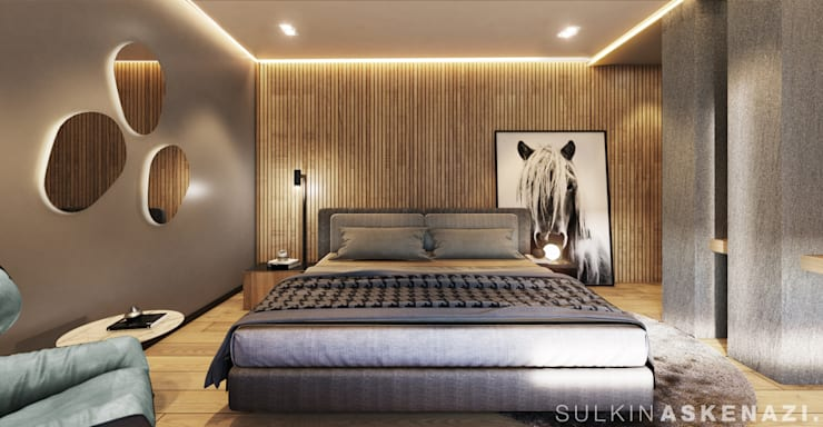 Small bedroom by Sulkin Askenazi, Modern