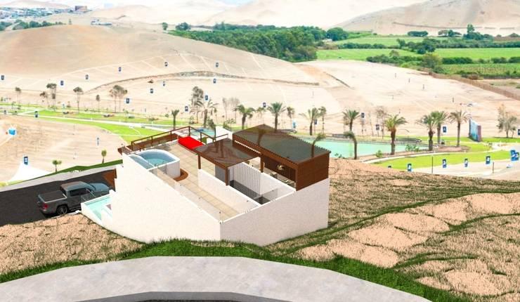 Casa de Playa - BUJAMA Casas de estilo minimalista de Corporación Siprisma S.A.C Minimalista