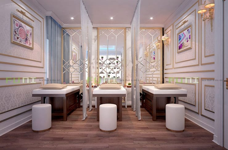 Thiết kế thi công phòng spa đẹp:  Spa by Công Ty TNHH Funi