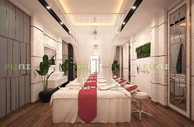 Thiết kế spa với diện tích nhỏ:  Spa by Công Ty TNHH Funi