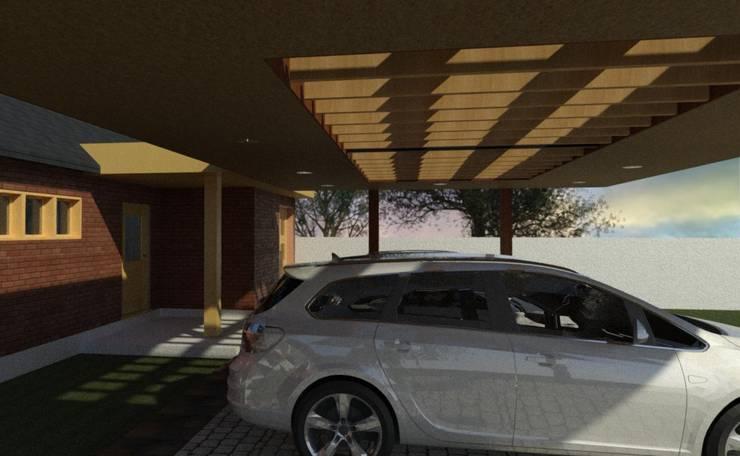 Diseño y Construcción de Cobertizo – Luis Matus: Techos planos de estilo  por eco cero