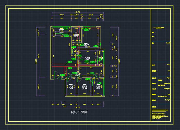 測量系統自動導出的CAD圖:   by 知森數位開發有限公司