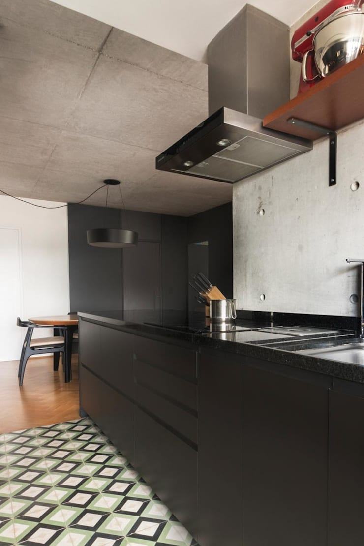 Kitchen by INÁ Arquitetura, Minimalist