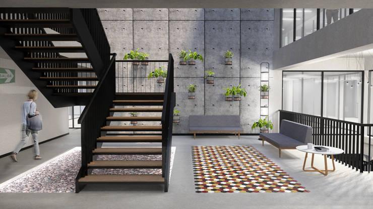 Vista Interior: Salas/Recibidores de estilo  por Karstico,