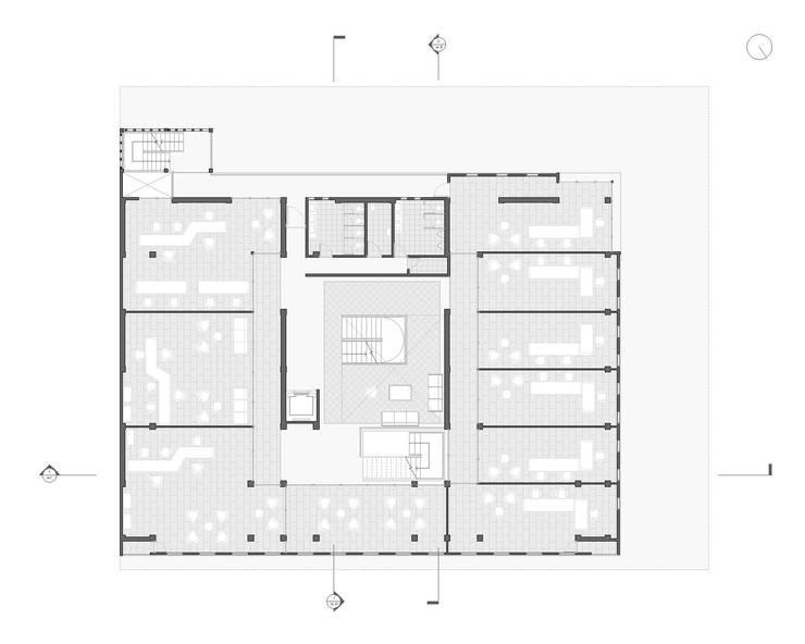 Planta Arquitectonica:  de estilo  por Karstico,