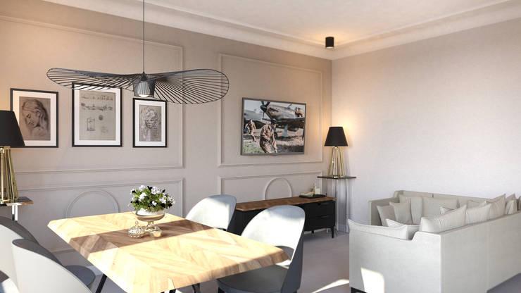 Salon: styl , w kategorii Salon zaprojektowany przez Decor Living Home,