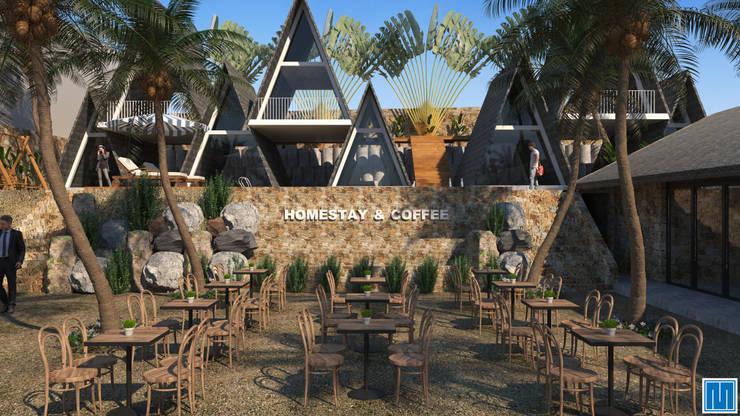 River Homestay and Coffee:  Nhà by Mét Vuông