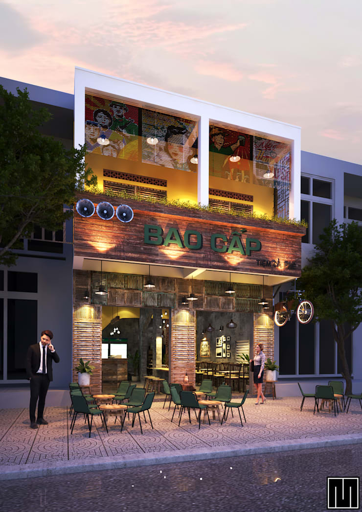Bao Cấp Coffee:  Nhà by Mét Vuông