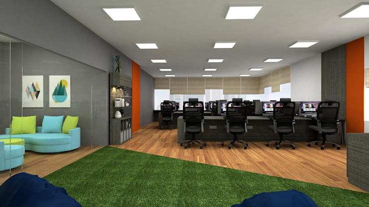 Commercial:  Office spaces & stores  by In Design Decor