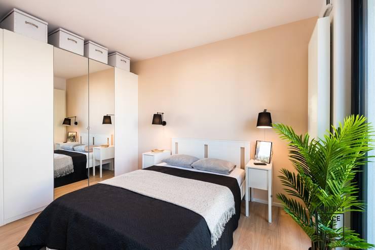 Dormitorios de estilo minimalista de Perfect Space Minimalista