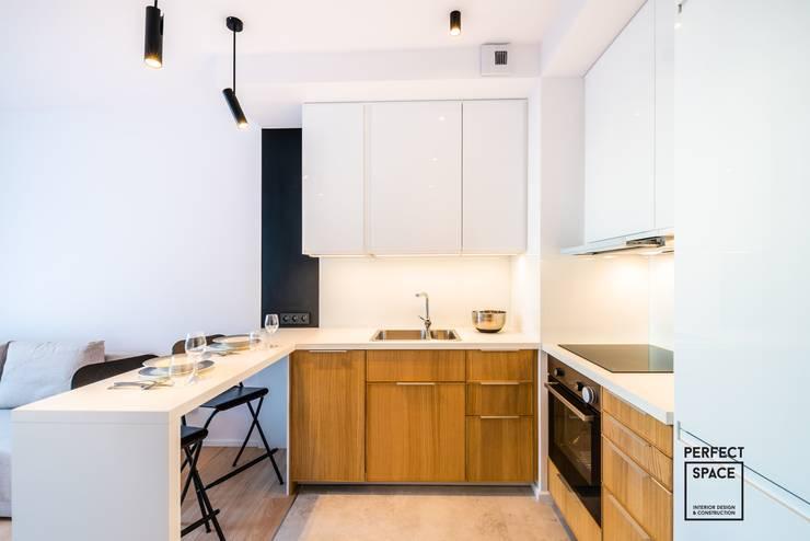 Cocinas de estilo minimalista de Perfect Space Minimalista