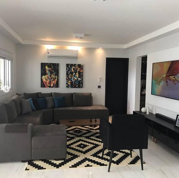 Sala Contemporânea: Salas de estar  por STUDIO SPECIALE - ARQUITETURA & INTERIORES