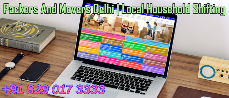 Household by Local Packers And Movers In Delhi