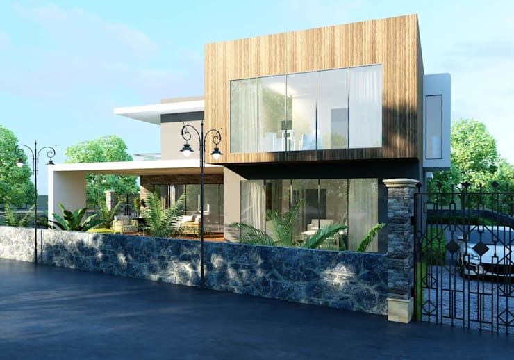 ANTE MİMARLIK  – Oruç Villa:  tarz Villa,