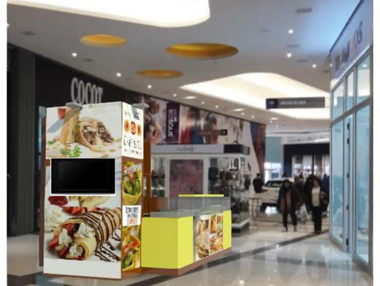 Centros Comerciales de estilo  por Faerman Stands y Asoc S.R.L. - Arquitectos - Rosario, Minimalista