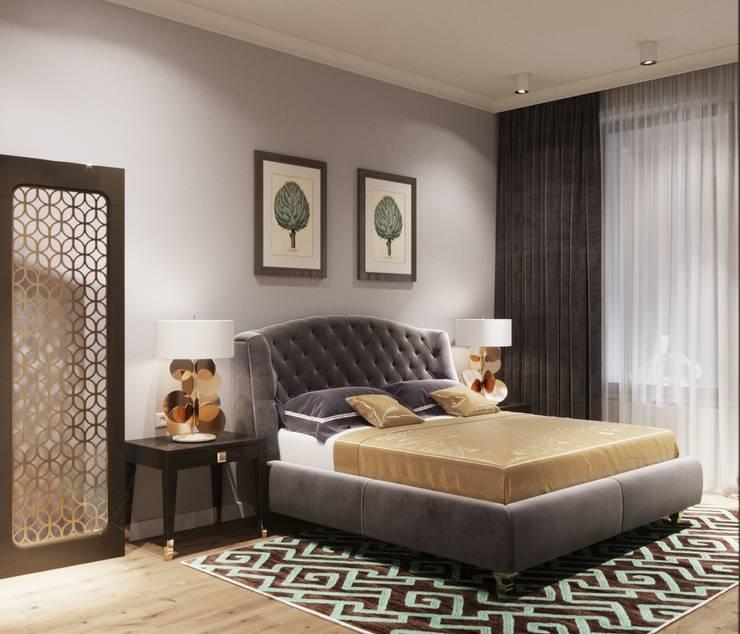 ЖК «River House»: Спальни в . Автор – Wide Design Group