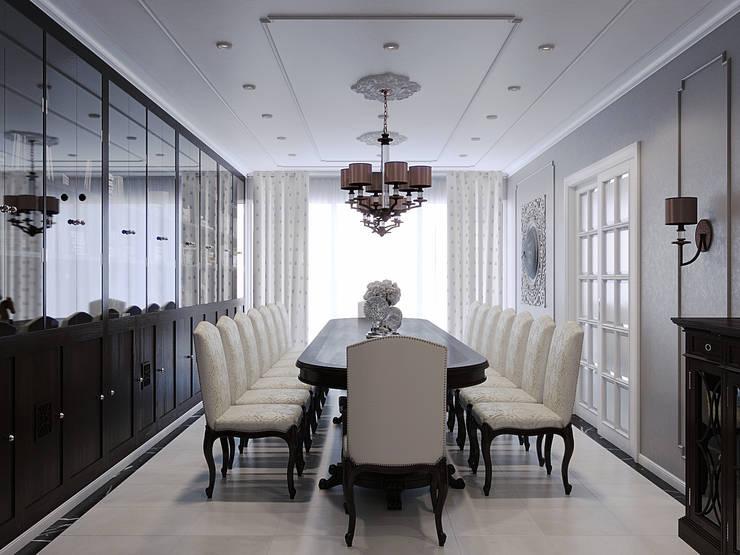 ЖК «Лесная сказка»: Столовые комнаты в . Автор – Wide Design Group