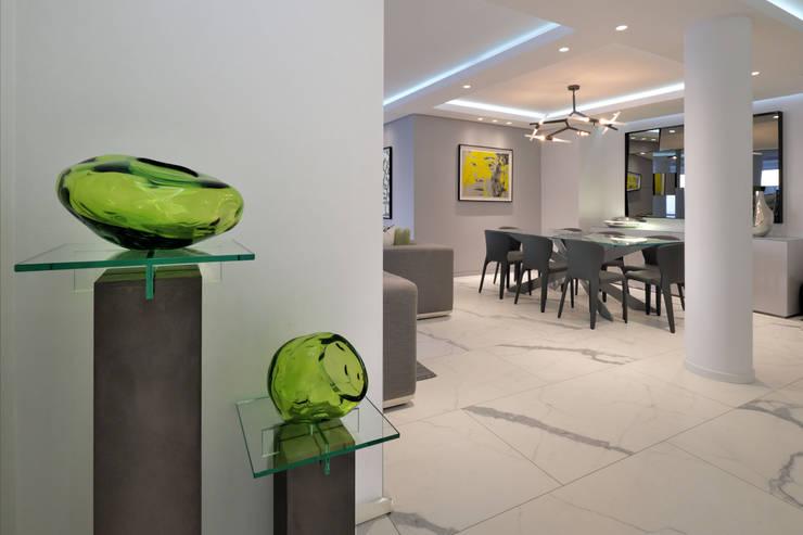 ห้องทานข้าว โดย KMMA architects, โมเดิร์น