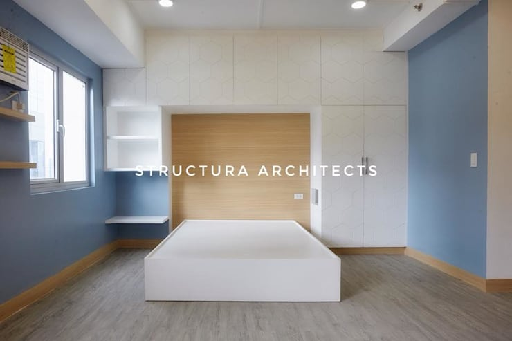 Bedroom:  Bedroom by Structura Architects, Modern
