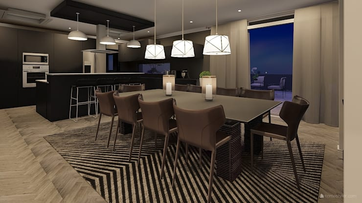 Dining room by CKW Lifestyle Associates PTY Ltd, Modern