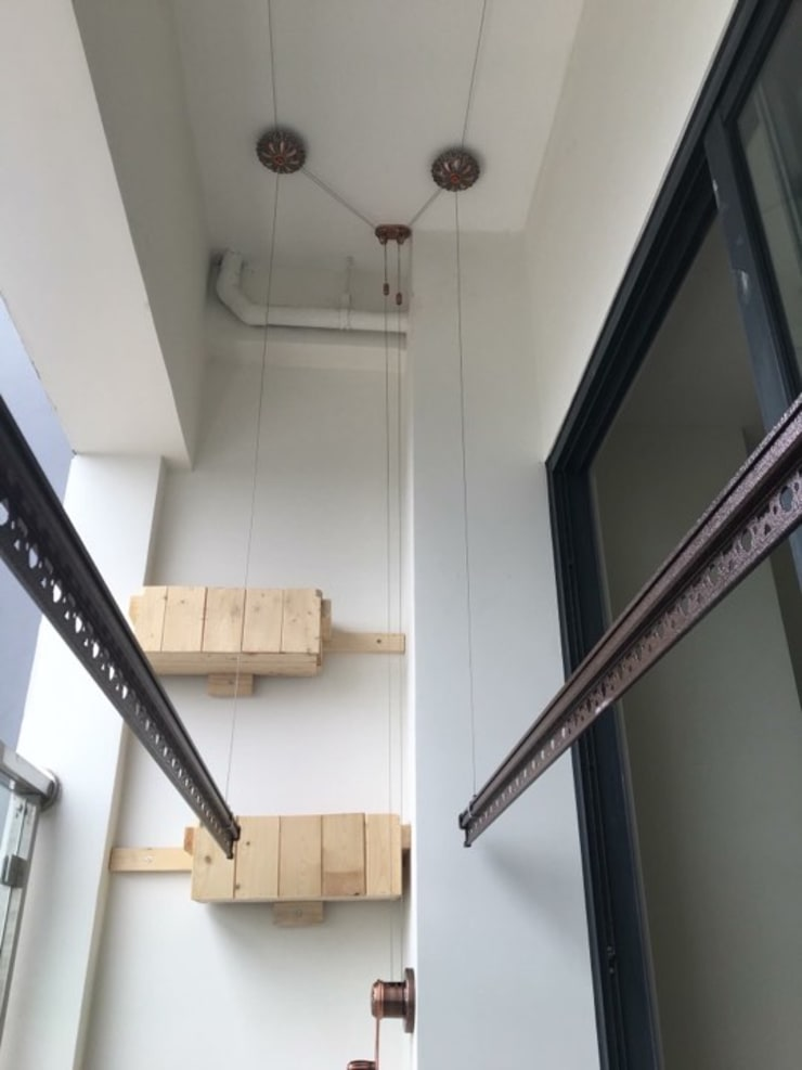 GIAN PHOI THONG MINH – gianphoiviet.vn:  Balconies, verandas & terraces  by MAI HIEN DI DONG HA NOI 0945158931