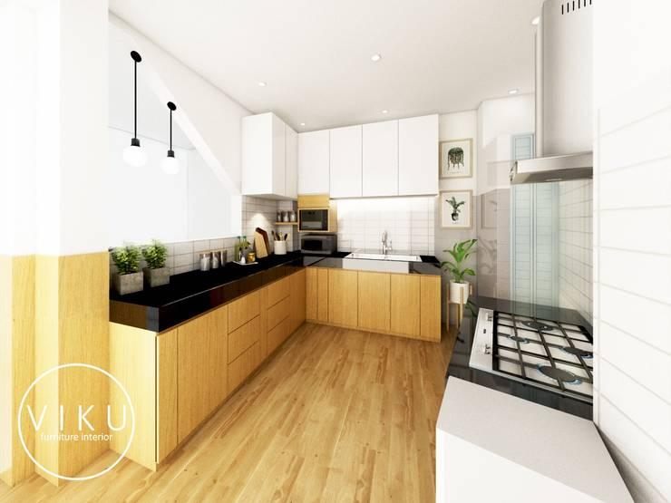 Kitchen set ibu Lia:  Dapur by viku