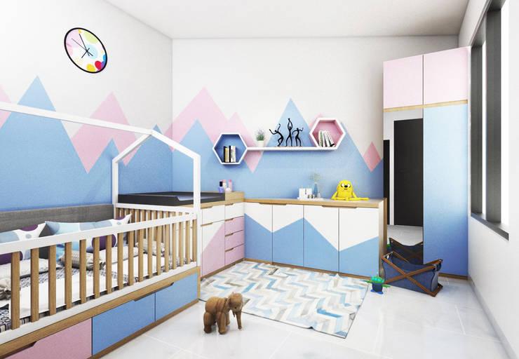 Bedroom Interior: Kamar Bayi & Anak oleh viku,
