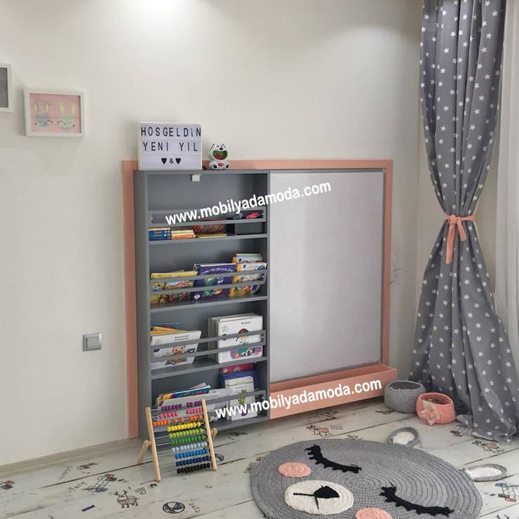 MOBİLYADA MODA  – İkiz Bebek Montessori Odası :  tarz Çocuk Odası, Modern