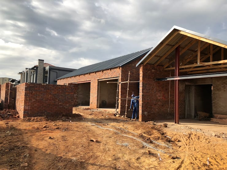 Passivhaus von Building Project X (Pty) Ltd., Modern
