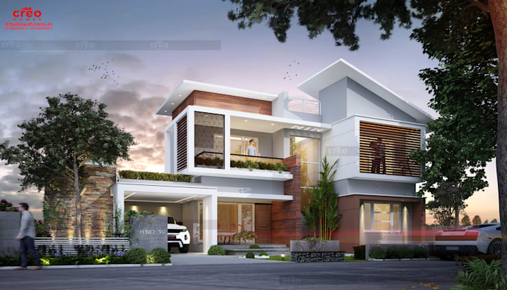 Houses by CreoHomes Pvt Ltd, Asian