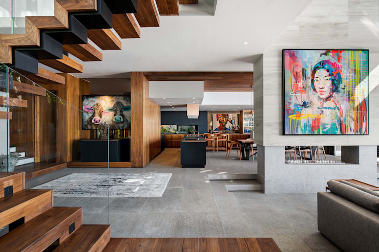 HOUSE SEALION | FRESNAYE:  Dining room by Wright Architects