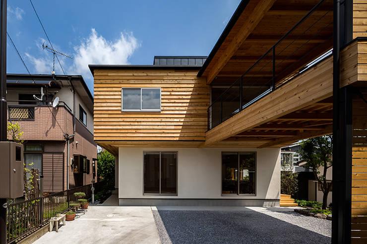 宇都宮・腕木の家: 中山大輔建築設計事務所/Nakayama Architectsが手掛けた木造住宅です。