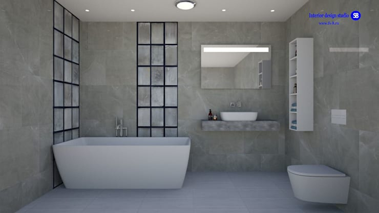 Bathroom:  Bathroom by 'Design studio S-8' , Minimalist