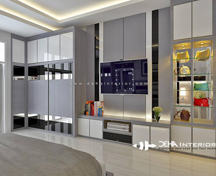 Dormitorios de estilo  por deha interior pekanbaru, Moderno Contrachapado
