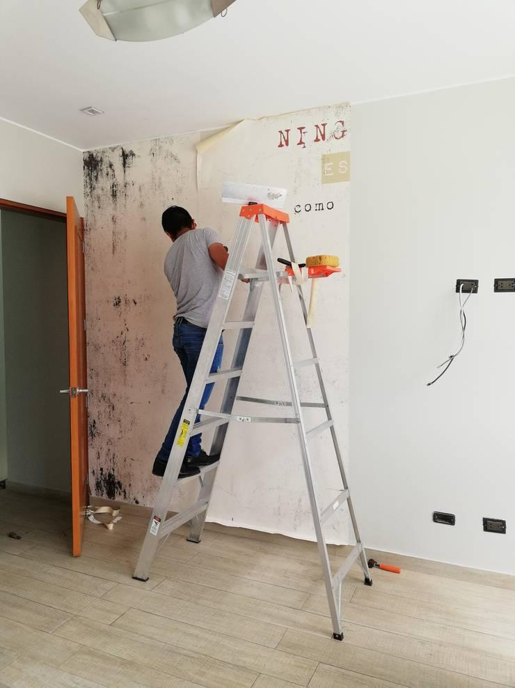 Decoración Dormitorio Casa MQ de Alicia Ibáñez Interior Design