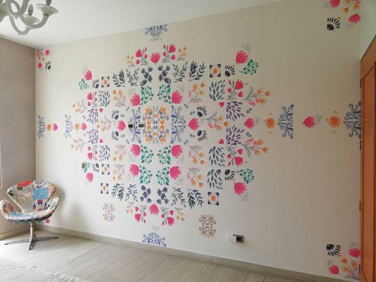 """Decoración dormitorio Mujer """"DESPUES"""":  de estilo  por Alicia Ibáñez Interior Design,"""