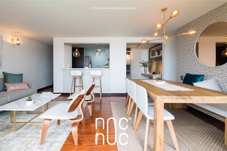 Modern dining room by noc-noc Modern