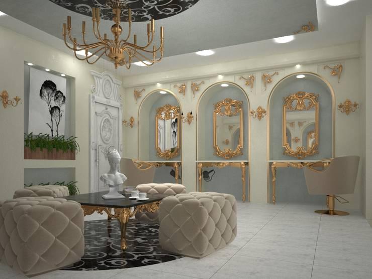 beauty salon: كلاسيكي  تنفيذ ET.CAD,كلاسيكي معدن