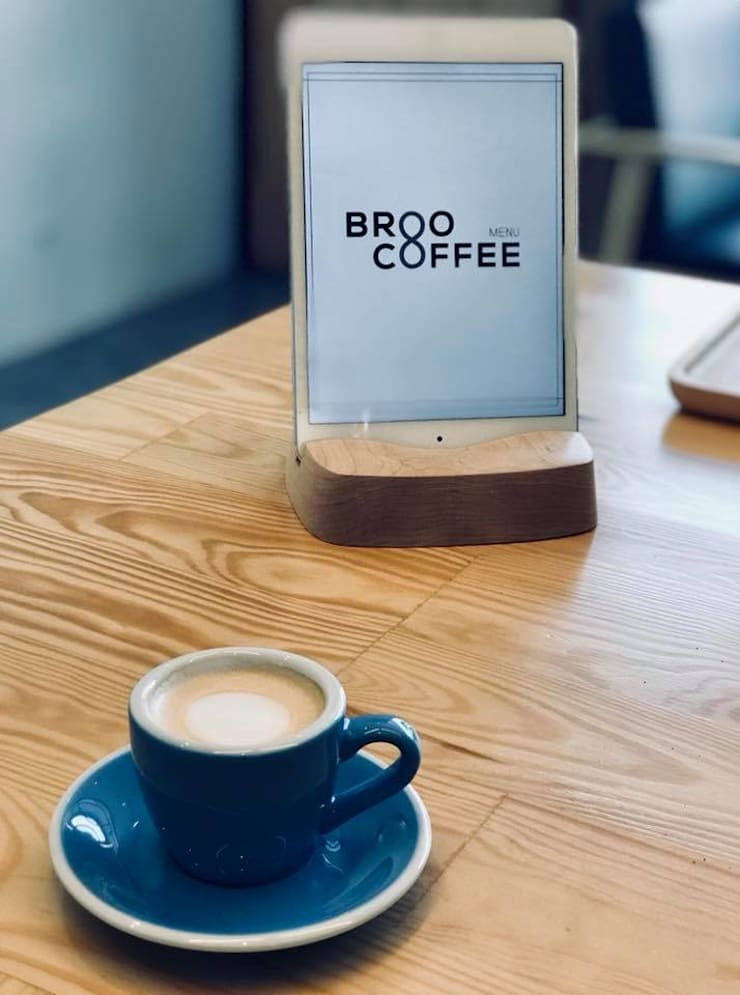 Boo Coffee:  Conference Centres by BloomBrown , Mediterranean
