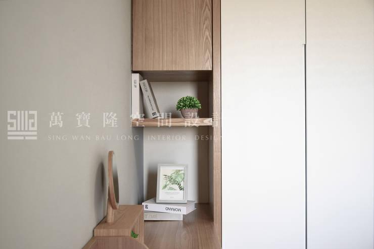 福馨建設-優活II/禾雅. Nordic:  客廳 by SING萬寶隆空間設計,