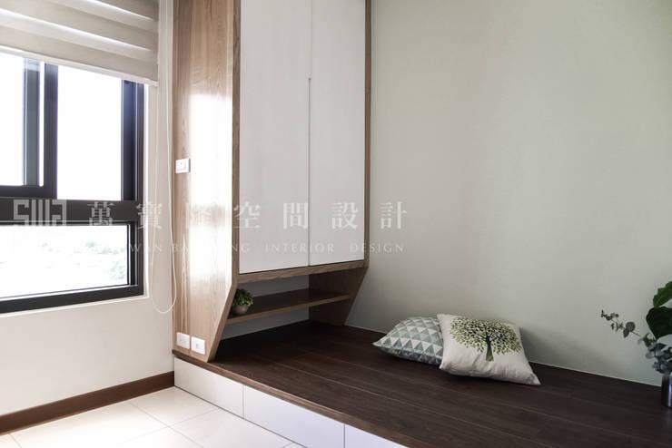 福馨建設-優活II/禾雅. Nordic:  嬰兒房/兒童房 by SING萬寶隆空間設計,