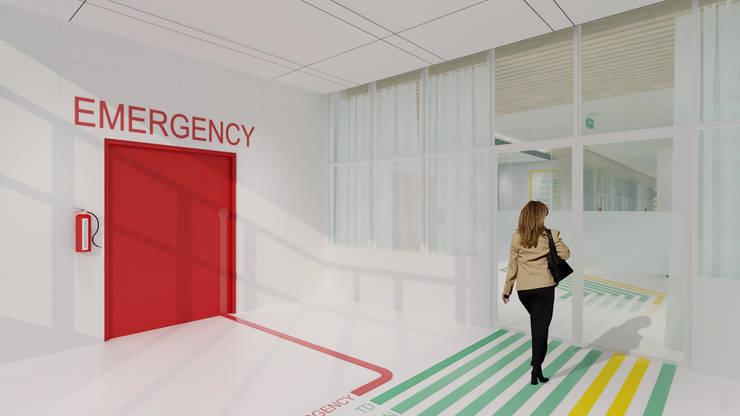 Emergency: Pintu oleh TIES Design & Build,