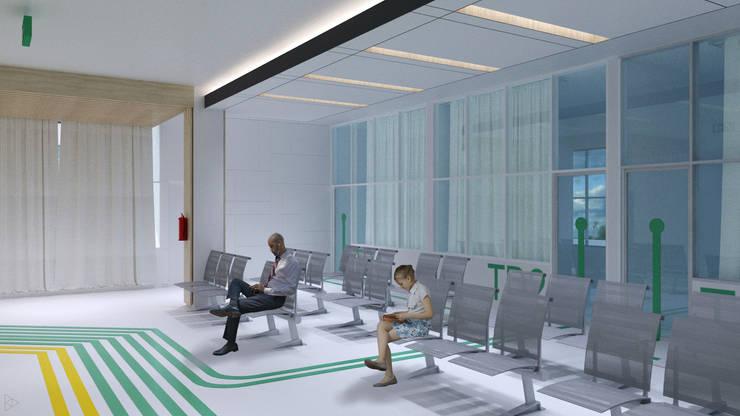 Waiting Room: Koridor dan lorong oleh TIES Design & Build,