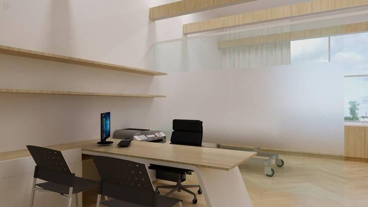 Consultation Room: Ruang Kerja oleh TIES Design & Build,