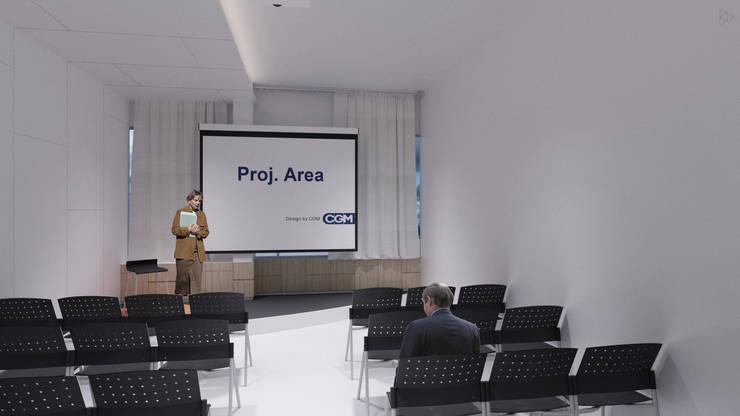 Training Room: Ruang Kerja oleh TIES Design & Build,