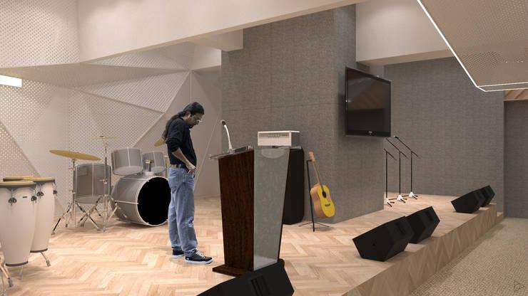 Stage: Ruang Multimedia oleh TIES Design & Build, Modern