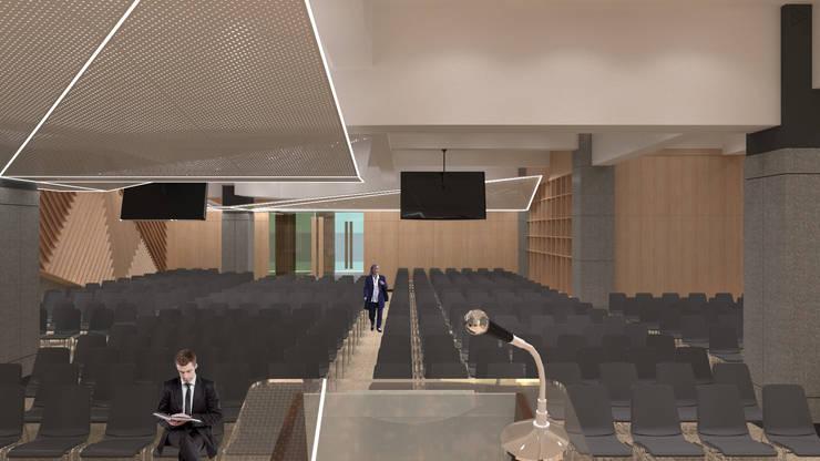 Hall: Ruang Multimedia oleh TIES Design & Build, Modern