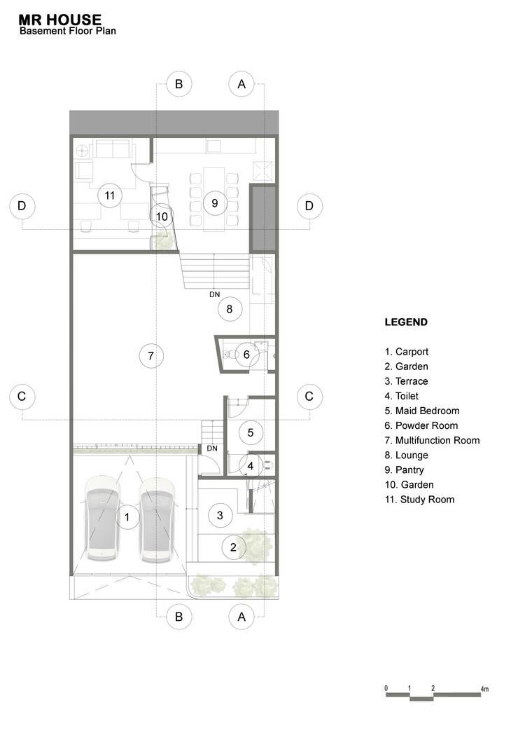 Basement Floor Plan:  oleh TIES Design & Build,