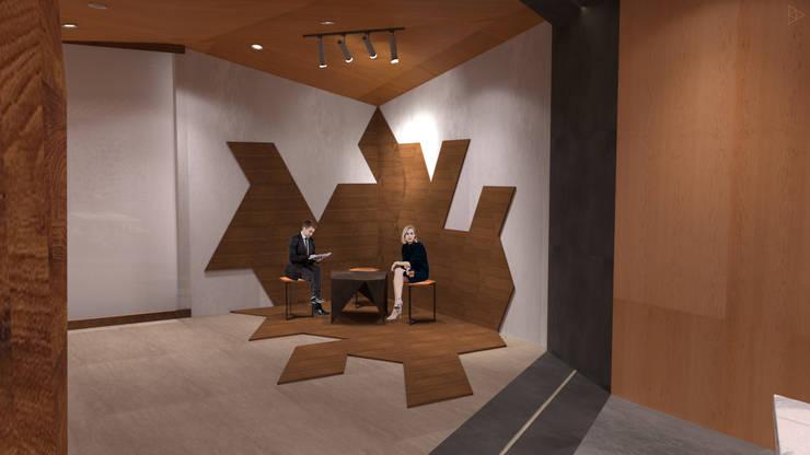 Creative Corner: Ruang Komersial oleh TIES Design & Build,